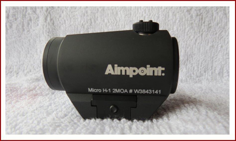 Reddot sight model Aimpoint Micro H-1 2MOA